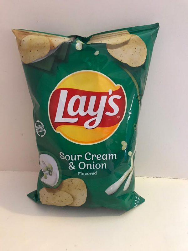 lays sour cream and onions